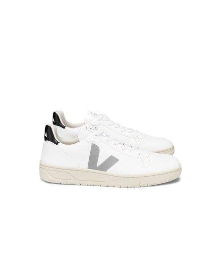 VEJA  V-10 CWL SNEAKERS  - White/Oxford Grey/Black