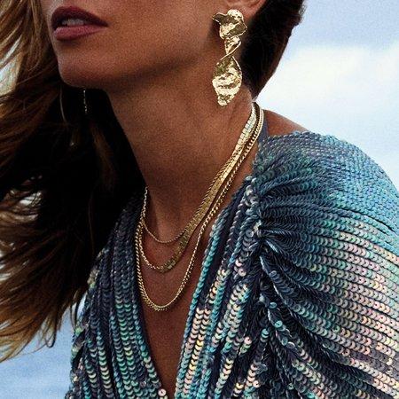 Pilgrim Laia Necklace - Gold