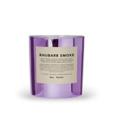 Boy Smells Rhubarb Smoke Candle