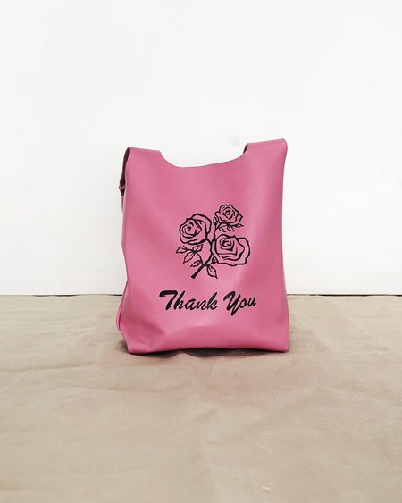 Ri-Ri-Ku MINI LEATHER THANK YOU BAG PLANTER