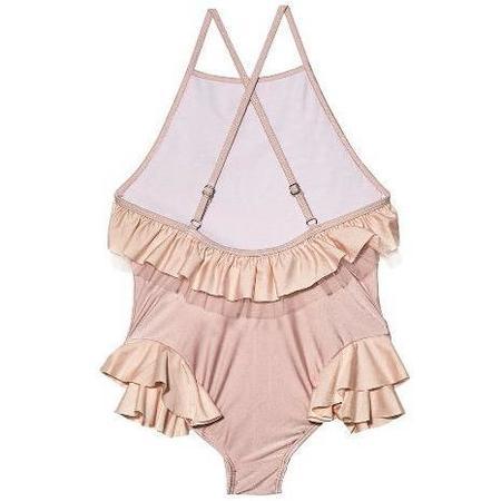 Kids Tutu Du Monde Bermuda One Piece Swimsuit - Rosy Mix