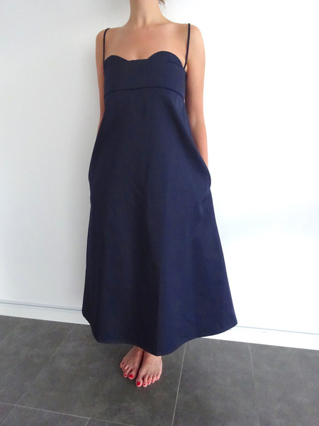 Toit Volant Verona Dress - Navy