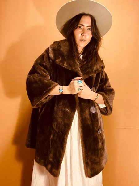 Vintage 100 ARCE WOODS TEDDY COAT