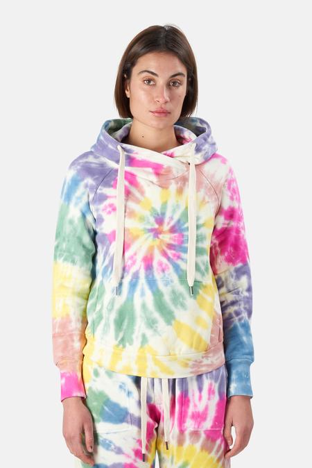 NSF Lisse Hoodie Sweater - Skittles Dye