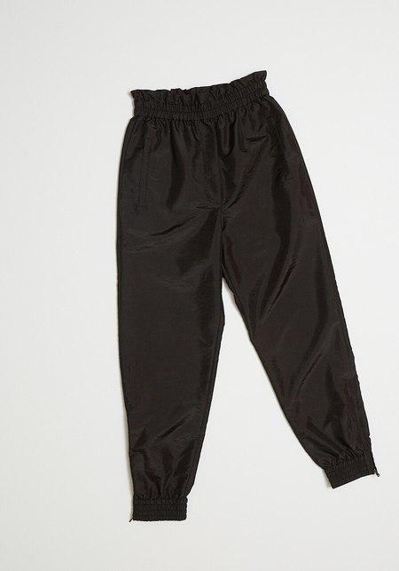 Tibi Crispy Jogger Pants- Black