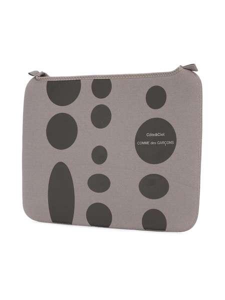 """Comme des Garçons x Côte & Ciel MacBook Pro 13"""" laptop case - Grey"""