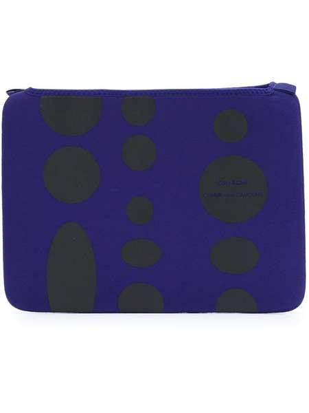 """Comme des Garçons x Côte & Ciel MacBook Air 13"""" laptop case - Blue"""