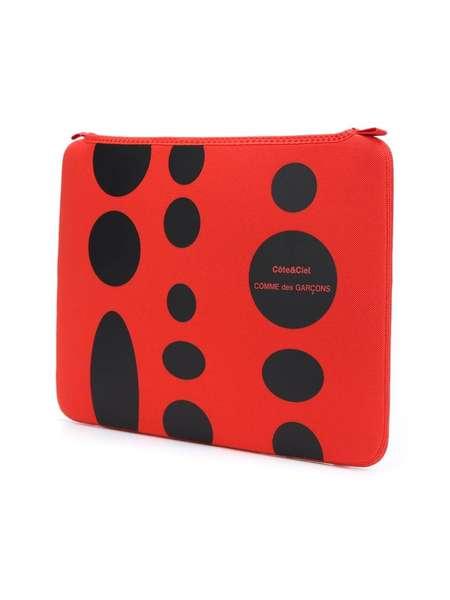 """Comme des Garçons x Côte & Ciel MacBook Air 13"""" laptop case - Red"""