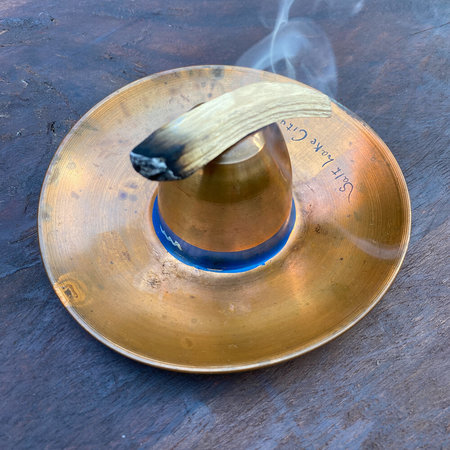 Vintage Sombrero Ashtray - Copper