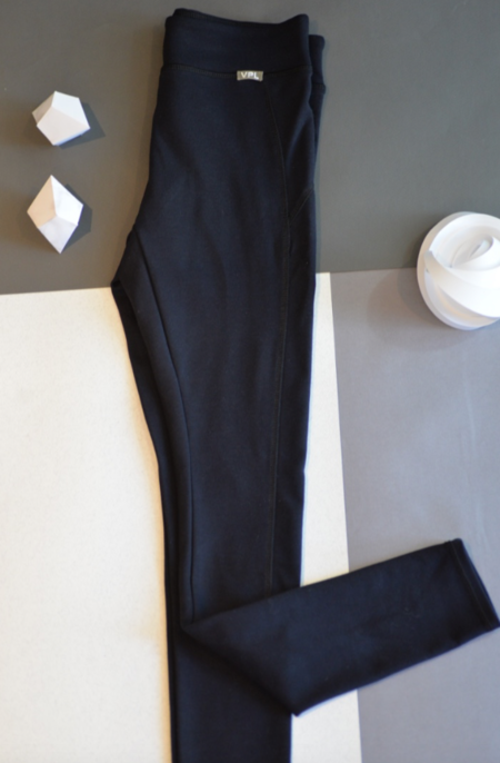 VPL X-Curvate Legging Black : Winter Weight Knitted Ponte