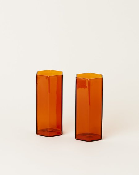 Maison Balzac Coucou Tall Glass Set - Amber