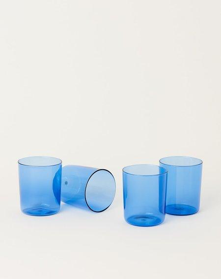 Maison Balzac Set of 4 Goblets - Azure