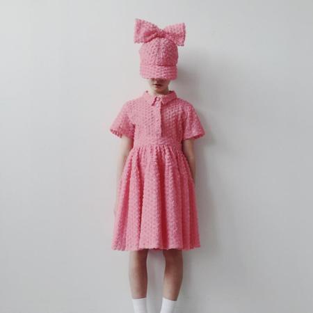 Kids caroline bosmans midi skirt - rose pink