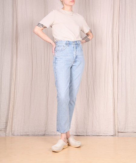Agolde Riley High Rise Straight Jeans - Renewal