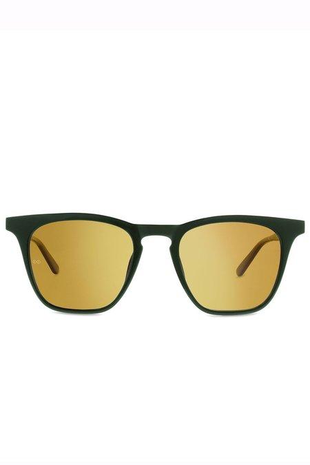 Smoke x Mirrors Rocket 88 Sunglasses - Green/Gold Mirror Lens