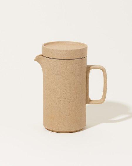 Hasami Porcelain Tall Tea Pot - Natural