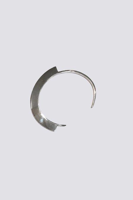 Knobbly Studio 120 Degree Cuff - sterling silver