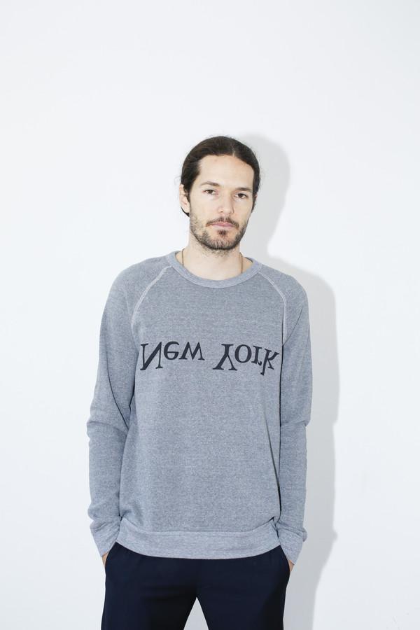Assembly New York Cotton New York Logo Sweatshirt