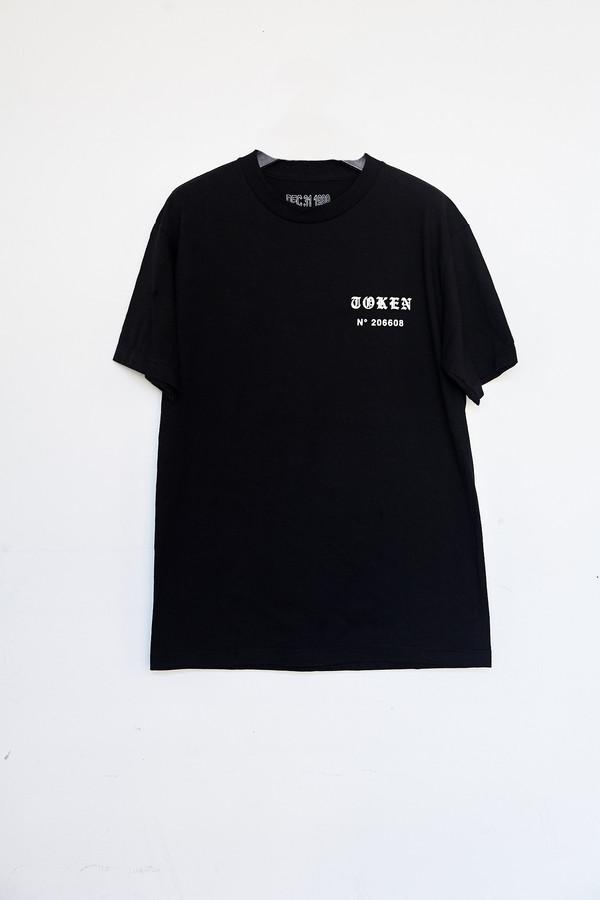 Unisex Token Cotton Spirit Ex/Rose T-Shirt - Black