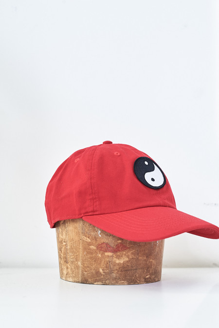 Assembly New York Cotton Ying Yang Hat - Red