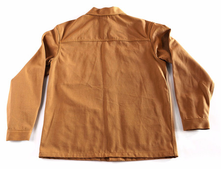 Railcar Fine Goods Duck Canvas Chore Coat - brown