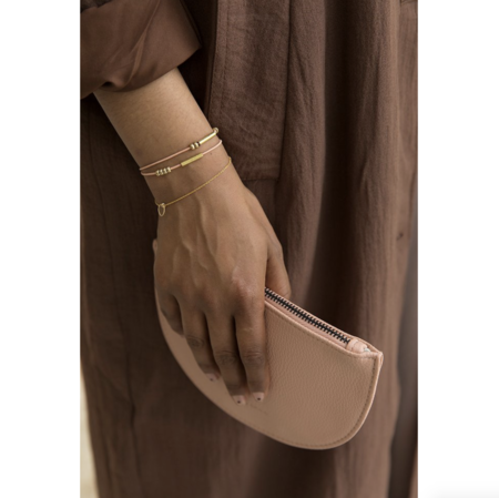 Monk and Anna Half Moon Bracelet