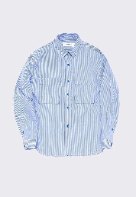 Workware Caf Shirt - stripe