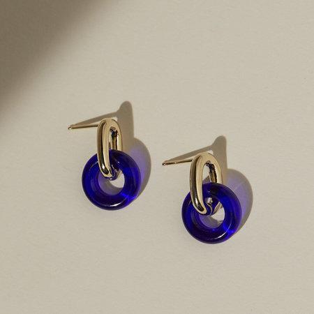 Lindsay Lewis Jewelry Anna Earrings - Cobalt