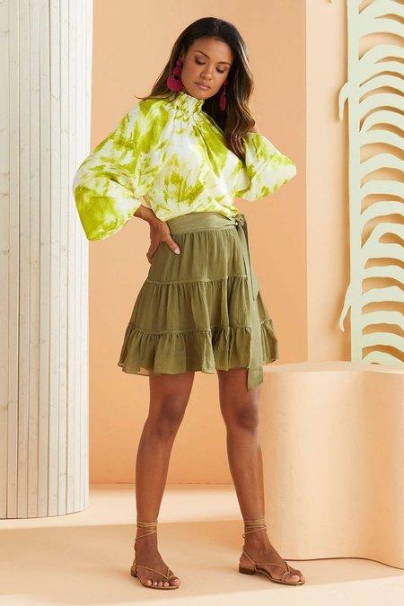 Marie Oliver Bess Skirt - Olive