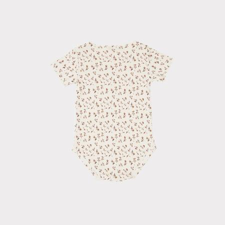 Kids Caramel Viperfish Baby Romper - Ditsy Floral