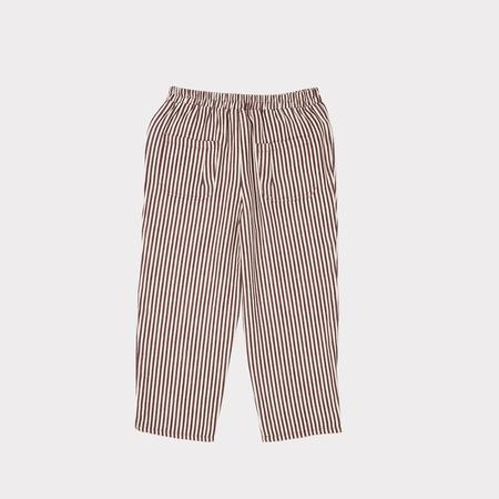 Kids Caramel Squid Trouser - Brown Stripe