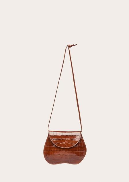 Little Liffner Pebble Mini Bag - Brown