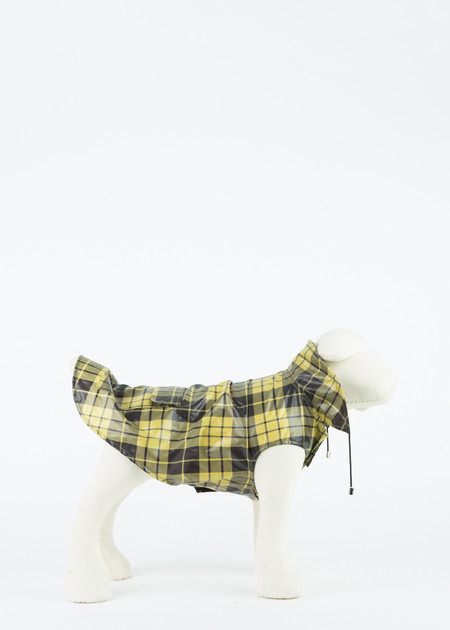 Ware of the Dog Plaid Anorak Raincoat