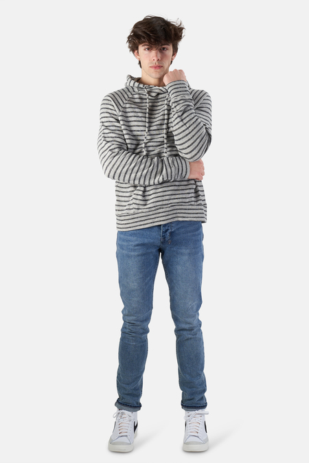 V::Room Heather Fleece Hoodie Sweater - Green