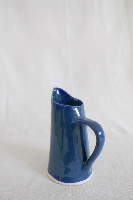 Mervyn Gers Milk Jug - Blue Glaze