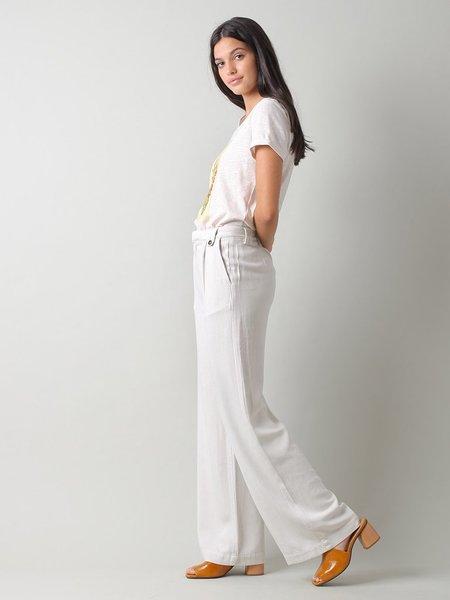 Indi & Cold Fluid Long Trousers - Crudo