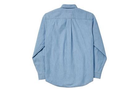 Filson Chambray Button Down Shirt - Light Indigo
