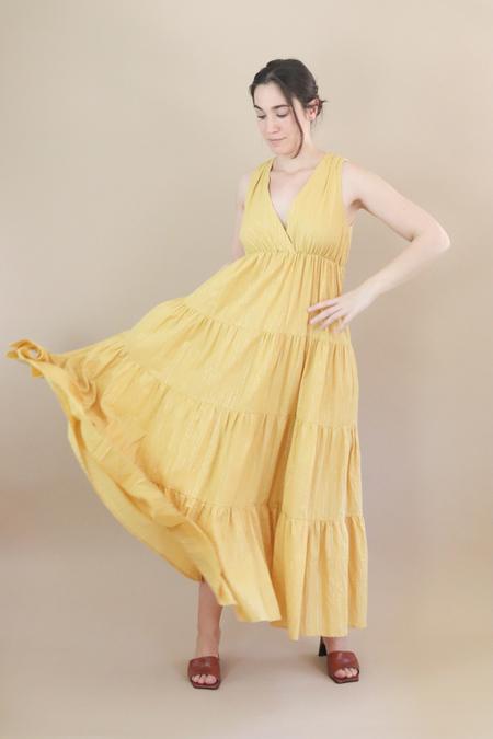 Traffic People Gaia Dress - Yellow