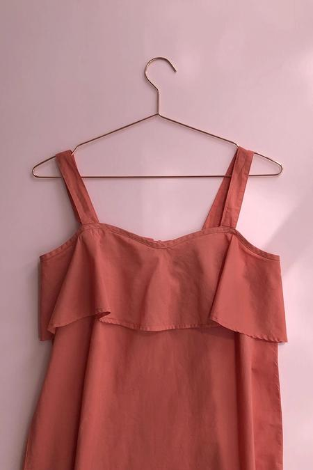 Salua Atelier Lingerie Ruffle Dress