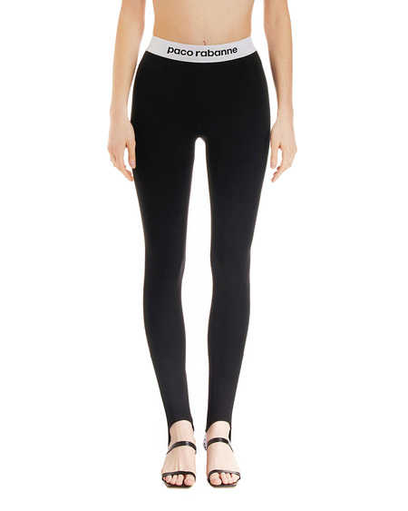 Paco Rabanne Leggings with Stirrups