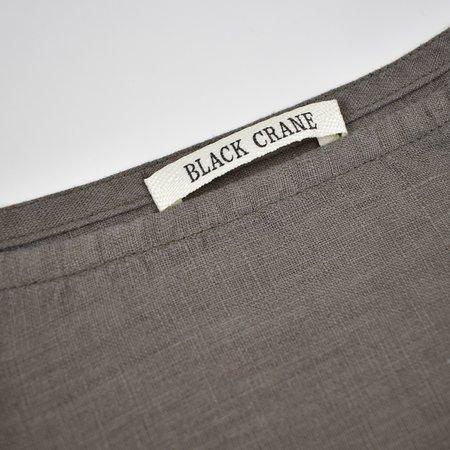 Black Crane Box Top - Gray