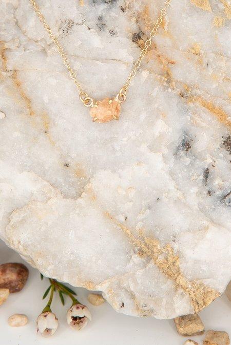 Jess Meany 14 Stone Necklace - 14k gold-filled