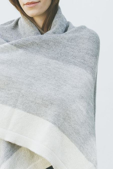 Bare Knitwear Throw Blanket