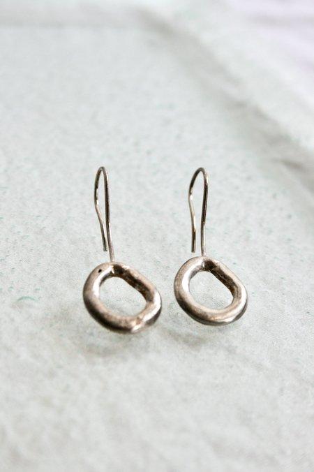 Mercurial NYC Suspended Link Drop Earrings - Sterling silver