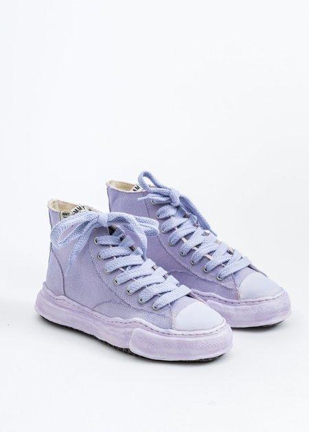 Mihara Yasuhiro Original Sole Overdyed Canvas PETERSON HI Sneaker - Purple