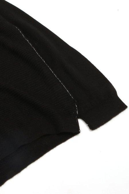 Paychi Guh L/S Textured Crew - Black
