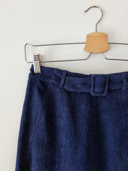 Samantha Pleet Tightrope Pants - Navy