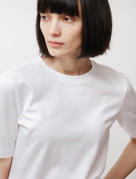 Sunspel Mid Sleeve T-Shirt - White