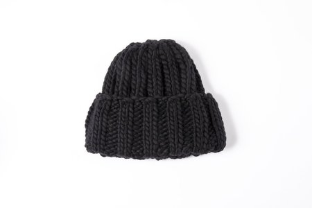 Clyde Fold Hat - Black