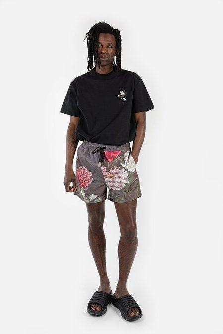 Soulland William Shorts - Green AOP